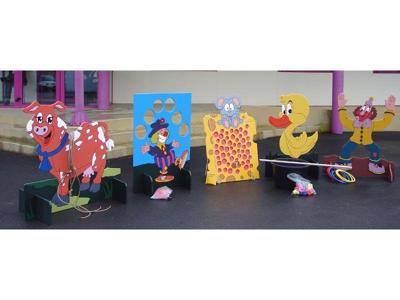 Location de jeux de kermesses Animation Loire Attractions 2000 # Jeux En Bois Géants Pour Kermesse