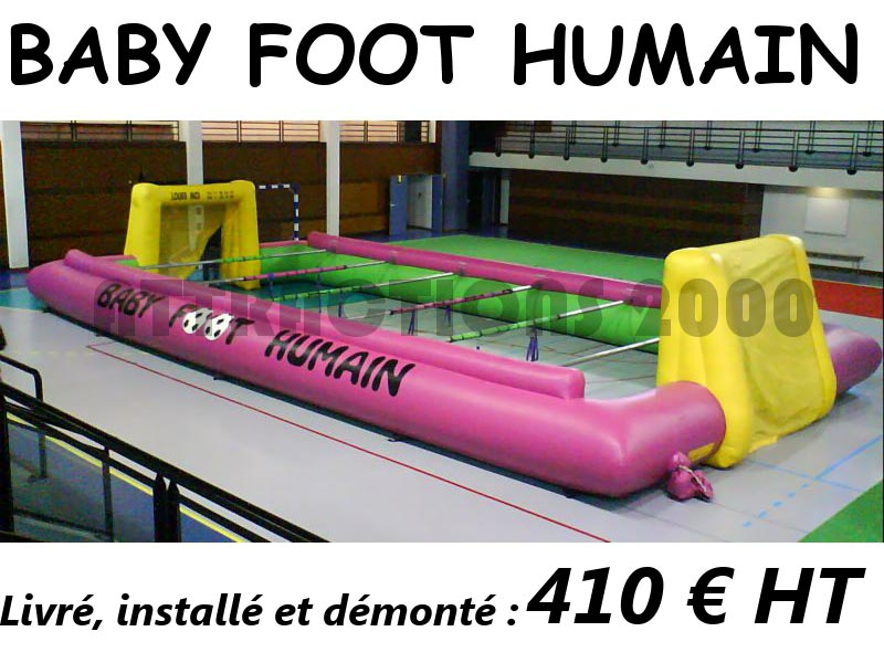 baby foot humain a louer