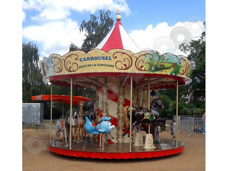location carrousel manege loire